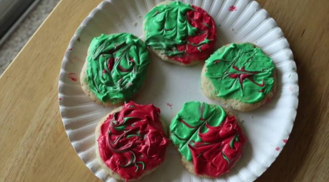 Christmas in July Cannabis Sugar Cookies