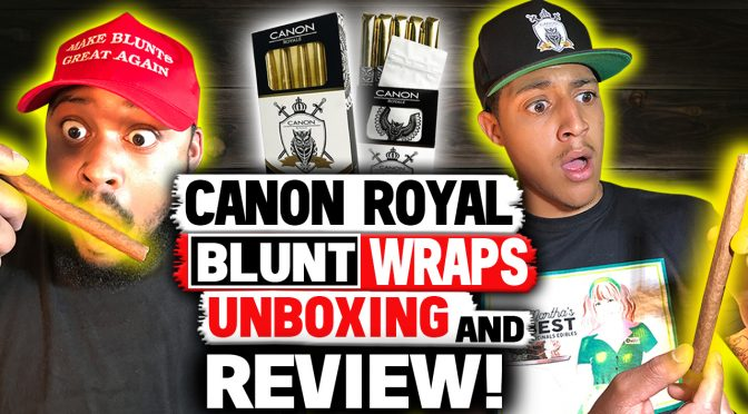 Cannasseur Council Canon Royal Blunt Wraps Review