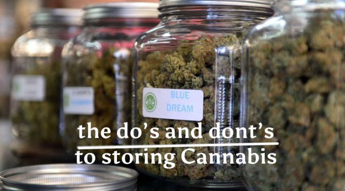 The Do's and Dont's of storing Cannabis
