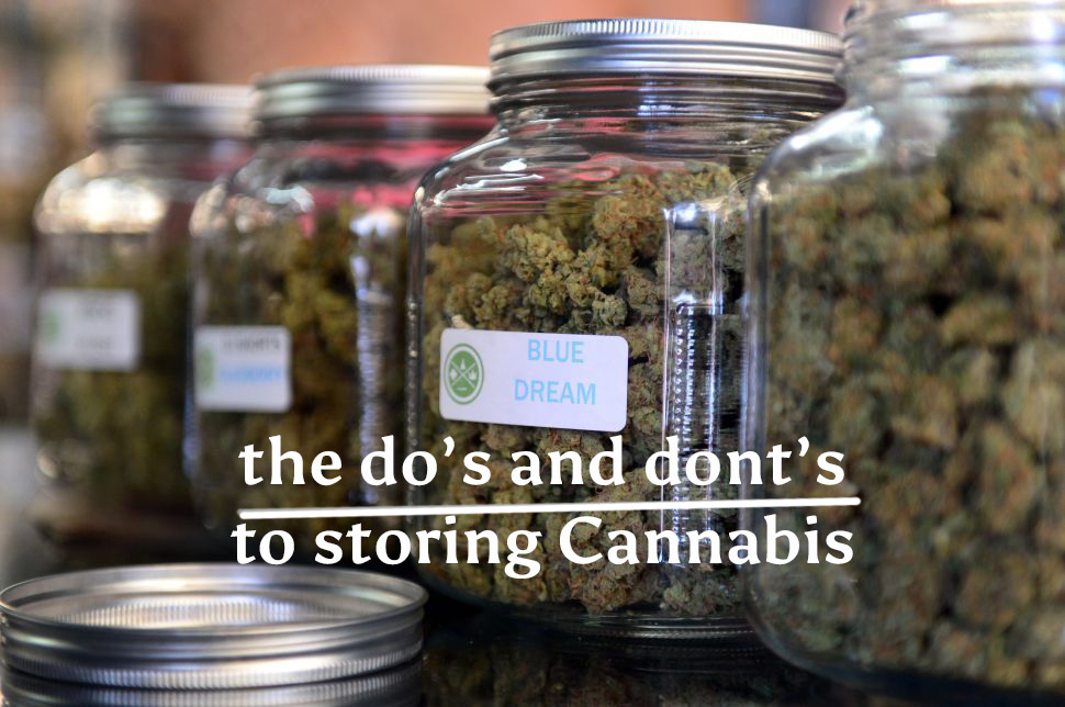 Storing Cannabis