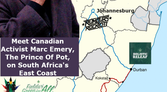 Prince of Pot in South Africa.