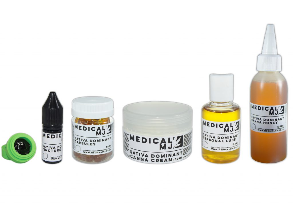 Sativa capsules, tincture, cream, lube