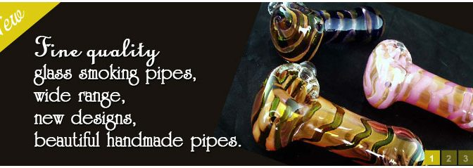 The Joy to See Smoke Swirling in Glass Pipes